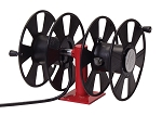 Reelcraft Hand Crank Welding Cable Reel #1~2/0 x 150~200ft, 250 AMP, Arc Weld, Dual Weld, Side-by-side Without Cable