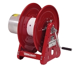 Reelcraft Hand Crank Welding Cable Reel #2~2/0 x 300~150ft, 400 AMP, Arc Weld Without Cable