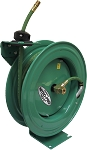Nitro Pro EZ-Coil hose reel for nitrogen tire inflation systems with 3/8 inch X 50 Feet of 300 PSI hose included