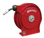 Reelcraft Retractable Hose Reel 1/2 x 25ft, 3250 psi , for Oil service with hose included