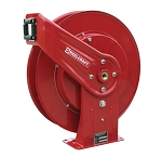 Reelcraft Retractable Hose Reel 3/8 x 50ft, 500 psi, for Air & Water service - hose not included