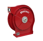 Reelcraft Compact Spring Retractable Hose Reel 1/2 x 35ft, 500 psi, for Air & Water service - hose not included