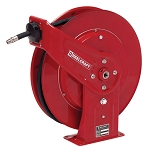 Reelcraft Spring Retractable Hose Reel 1/2 x 50ft, 3250 psi , for Oil service with hose included