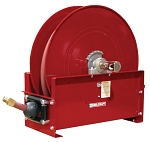 Reelcraft Spring Retractable Hose Reel 3/4 x 100ft, 250 psi, for Air & Water service with hose included