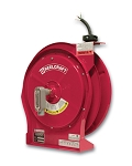 Reelcraft Retractable Cord Reel 12 AWG / 3 Cond  x 50ft, 20 AMP, Flying Leads