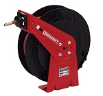 Reelcraft Light Duty Spring Retractable Hose Reel 3/8 x 35ft, 300 psi, for Air & Water service with hose included