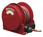 Reelcraft Low Profile Spring Retractable Hose Reel 3/4 x 35ft, 300 psi, for Air & Water service with hose included