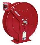 Reelcraft Dual Pedestal Spring Retractable Hose Reel 3/4 x 50ft, 500 psi, for use with Fuel - hose not included