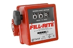 Fill-Rite 807C-1 3-Wheel Mechanical Meter for fuel or oil - 1 inch - 5 - 20 GPM