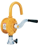 Fill-Rite SD62 Rotary Hand Pump for fuel or oil with curved spout