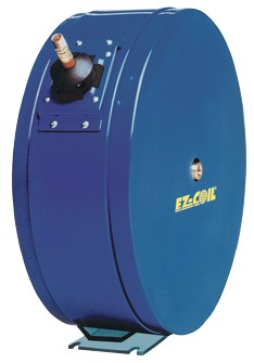 EZ-Coil Enclosed hose reel for High Pressure Grease with 1/4 inch X 25 Feet of 5000 PSI hose included (SAE 100R16)