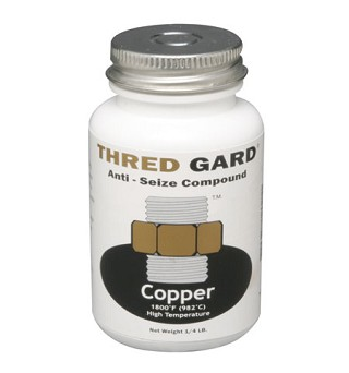 Thred Gard with Copper anti-seize compound one half pound CG08