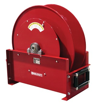 Reelcraft Spring Retractable Hose Reel 3/4 x 50ft, 500 psi, for use with Fuel - hose not included