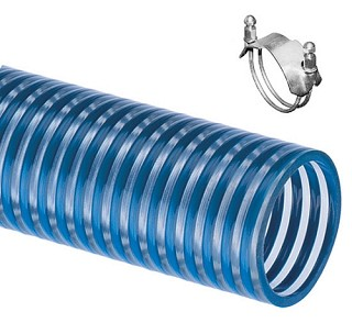 Cold Flex Blue Water BW Low Temperature 1.5 inch water suction hose