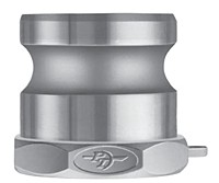 CF600A  316SS Cam Lock Part A stainless steel 6 inch adapter X F NPT