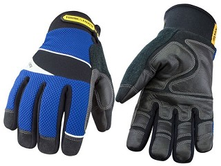 Cut Resistant Waterproof Winter Gloves lined with Kevlar - MEDIUM